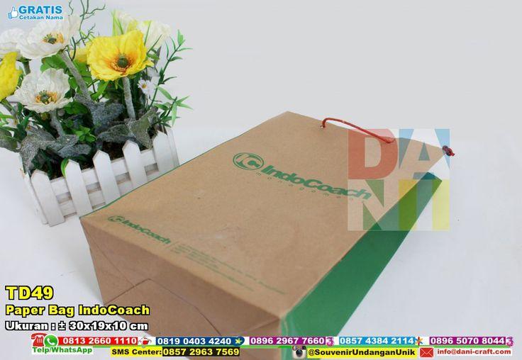 Paper Bag IndoCoach | Souvenir PernikahanPaper Bag IndoCoach 0896 2967 7660 dan 0857 4384 2114 ( WA/TELP ) PIN BBM : 7C56 6DEC dan 5B47 CC61 #PaperBag #PabrikBag #SouvenirPernikahanMurah