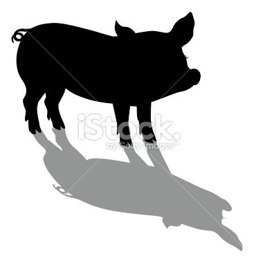 Pig Silhouettes Google Search For The Curtain Kitchen