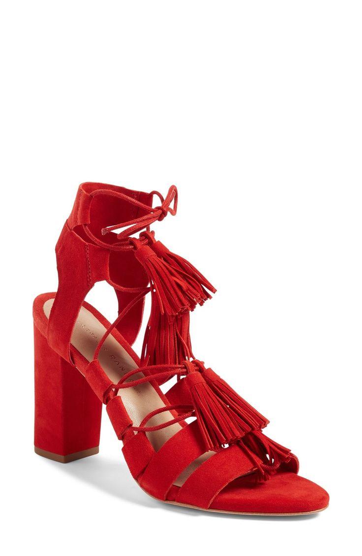 Loeffler Randall 'Luz' Tassel Sandal available at #Nordstrom