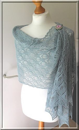 932 best Tücher und Schals gestrickt images on Pinterest   Knitting ...