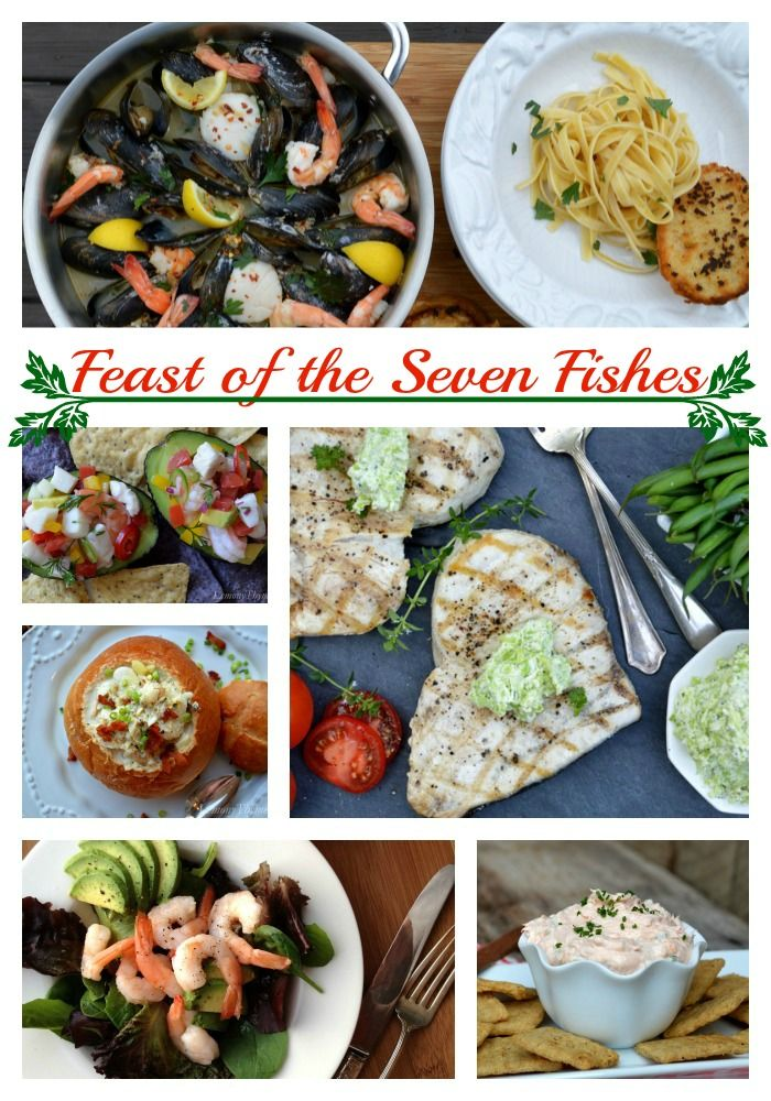 17 best ideas about christmas eve dinner on pinterest for Christmas eve fish dinner