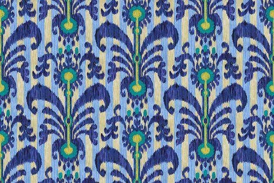 Home decor print fabric iman java moon luna from joann for Moon pattern fabric