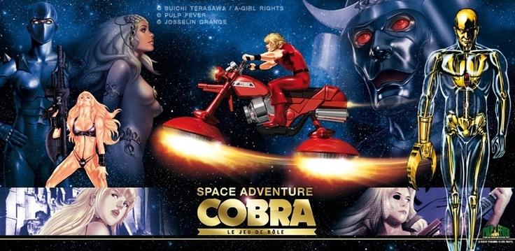 Space Adventure COBRA - Le Jeu de Rôle
