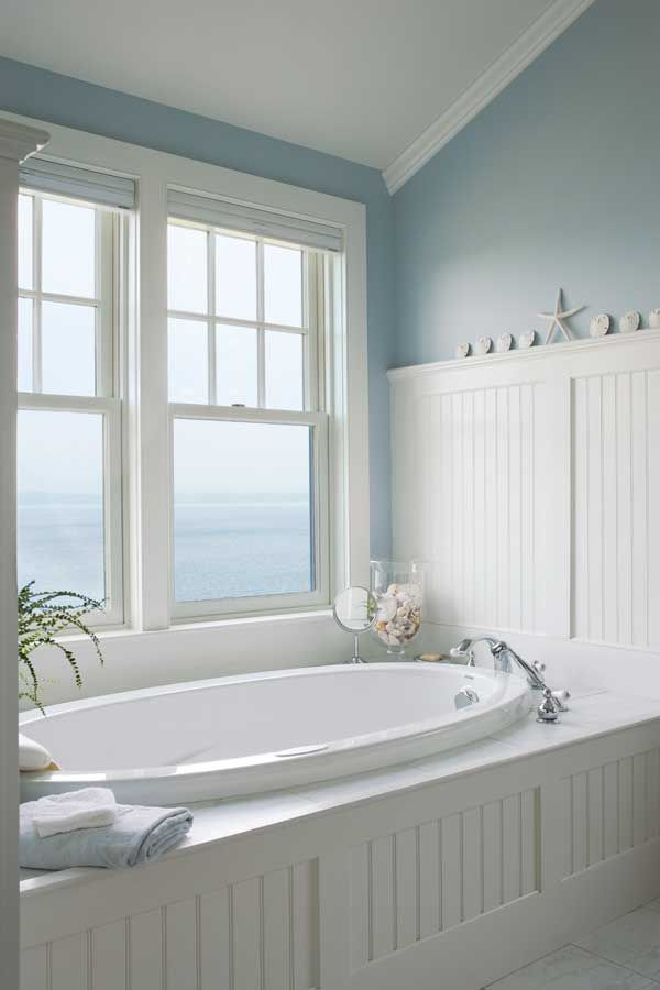 3 Ways To Design A Bath In An Early House Old House Online House Bathroom Beach Bathrooms Bathroom Styling