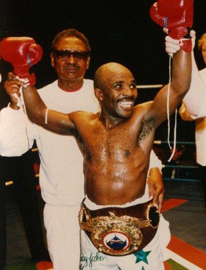 """Baby Jake 1962-2013   Boxing legend Jacob 'Baby Jake' Matlala passed away on Saturday 7 December at the age of 51 after suffering from a lung problem related to pneumonia. Often described as """"the little big man"""", Matlala was one of South Africa's most successful sportsmen - four times a world champion in the flyweight (50kg) division."""