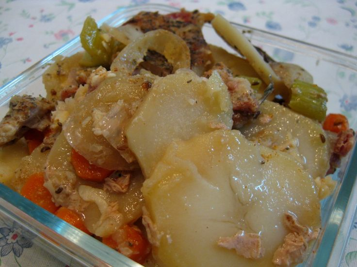 Slovak pork goulash recipe