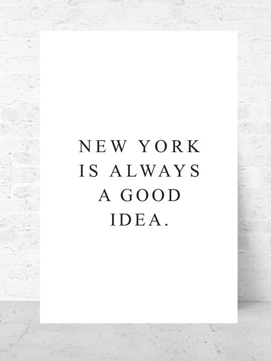 New York / Art print Travel Collection  |  Starting from $37  | #poster #art #design #interior #inspirational #gallery #wall #quote @getmercerandgrand