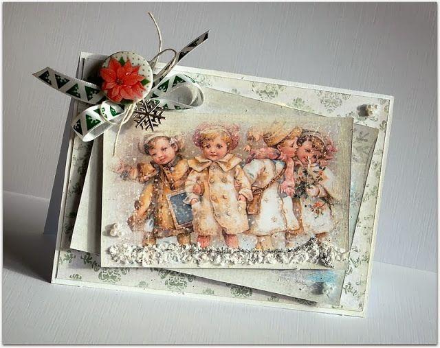 Pierwsze świąteczne kartki - First Christmas Cards