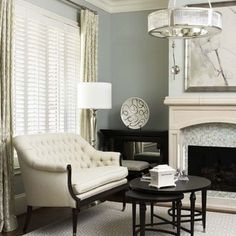 Gentle Gray Benjamin Moore | A medium taupe gray that's not brown.