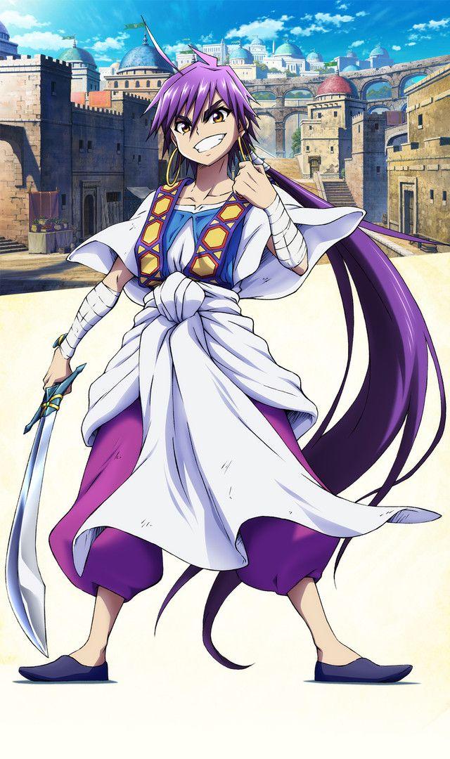 "Crunchyroll - ""Magi: Adventure of Sinbad"" Prequel Anime Staff and Cast Listed"