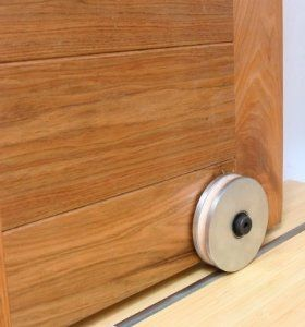 Barn Door Hardware Bottom Roller By Rustica Hardware 330