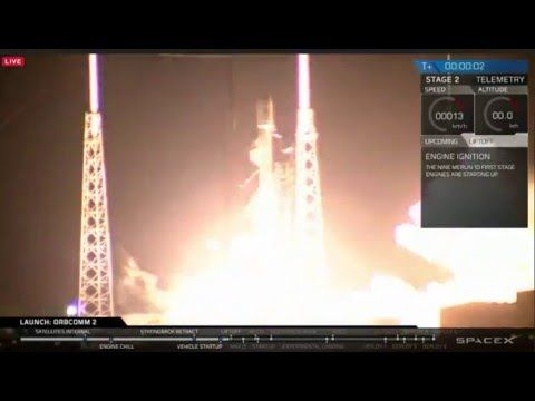 SpaceX landing the first stage on land. Mastering landing allows rockets to be reused and make space travel far cheaper.