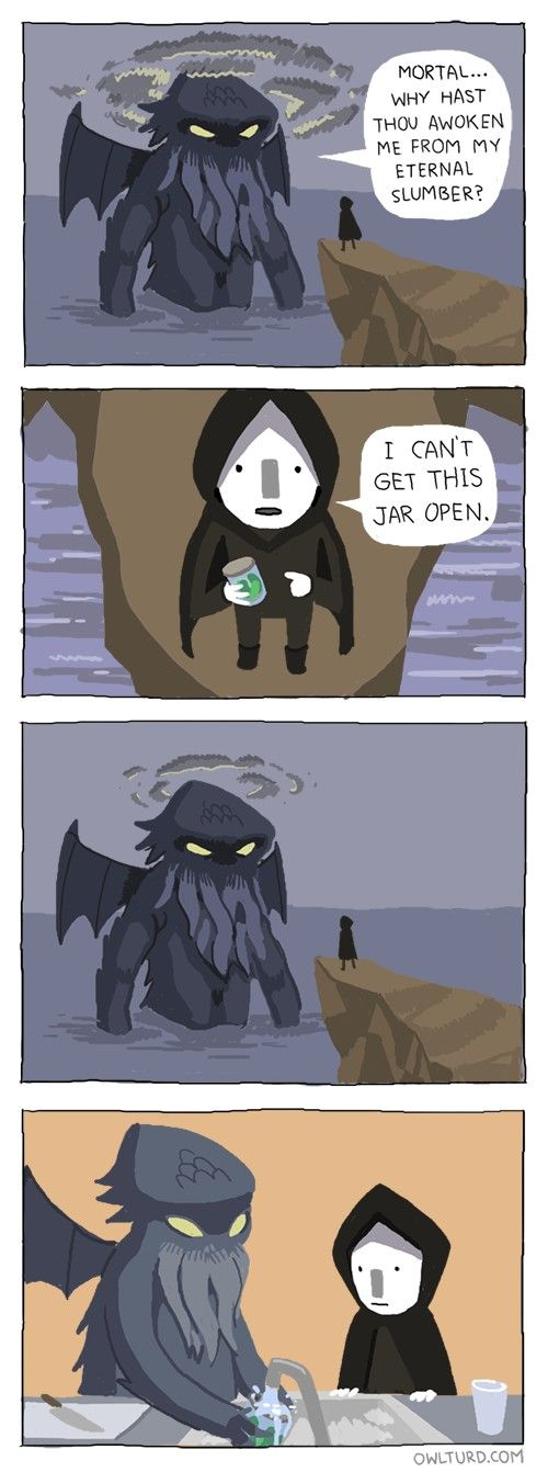 The Only Good Reason to Summon Cthulhu [Comic]