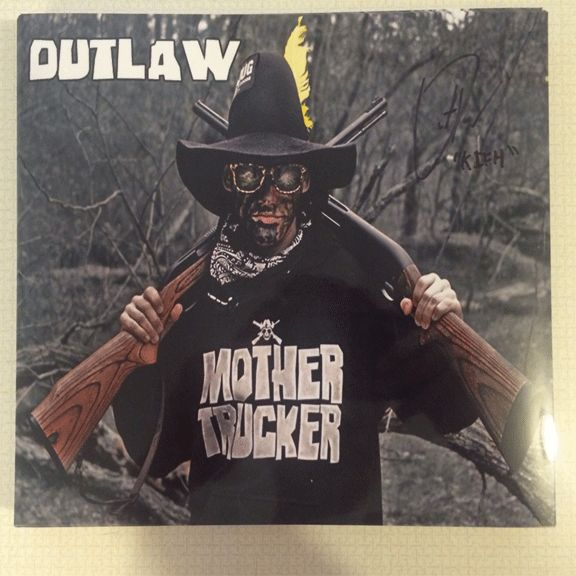Outlaw 8X10 Autograph ODP 1 Redneck Nation Stuff For