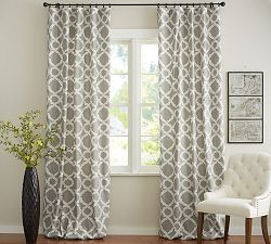 Draperies Patterned Curtains Drapes