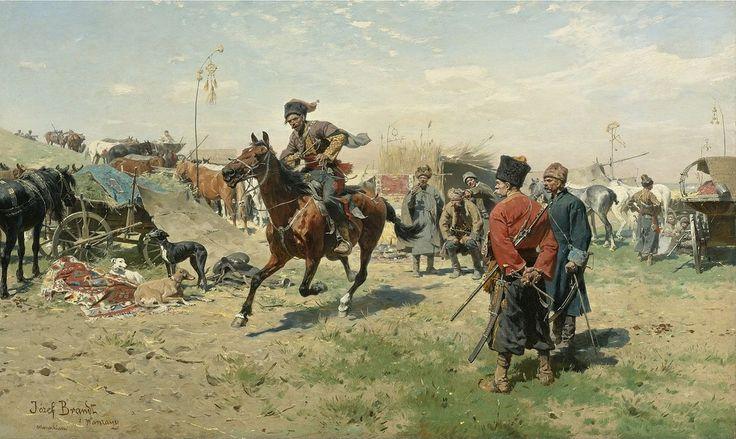 Cossacks - Józef Brandt