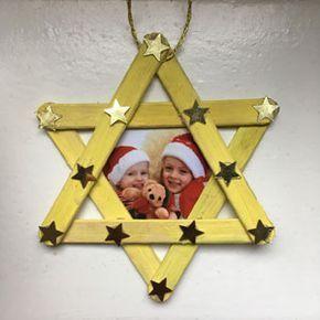 unglaublich Weihnachtsschmuck mit Kindern basteln