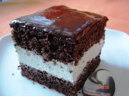 Prajitura cu crema de ciocolata alba - imagine 1 mare