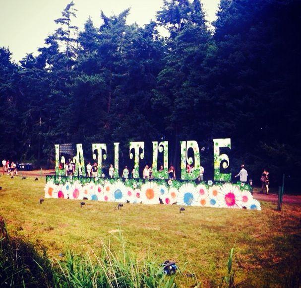 Flower power at Latitude festival