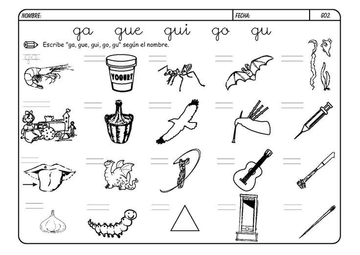Dibujos Para Colorear Y Completar Palabras Imagesacolorier