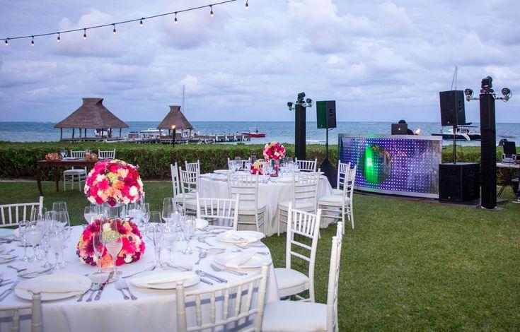 A live DJ is a great way to enjoy the night at your reception here at Zöetry Paraiso de la Bonita! #WeddingEntertainment #WeddingIdeas #WeddingDJ