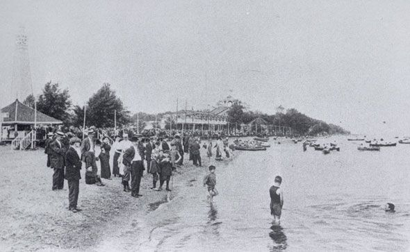 toronto 1900sScarborough Beach Park at Queen and Glen Manor Dr. in the Beaches some time after 1903.