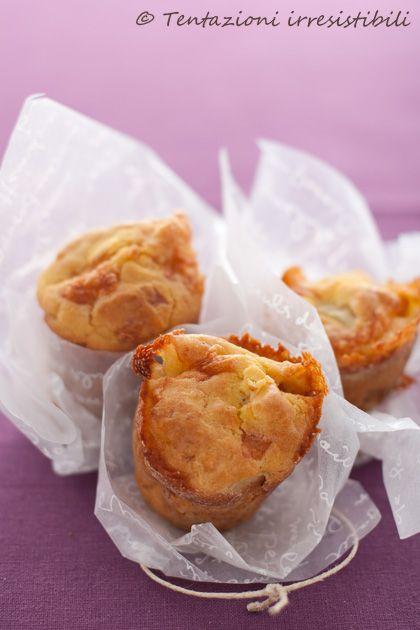 Muffin salati taleggio e pere