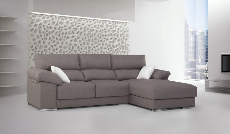 Sof chaisselongue 250 cm salones pinterest sofas for Sofa exterior conforama