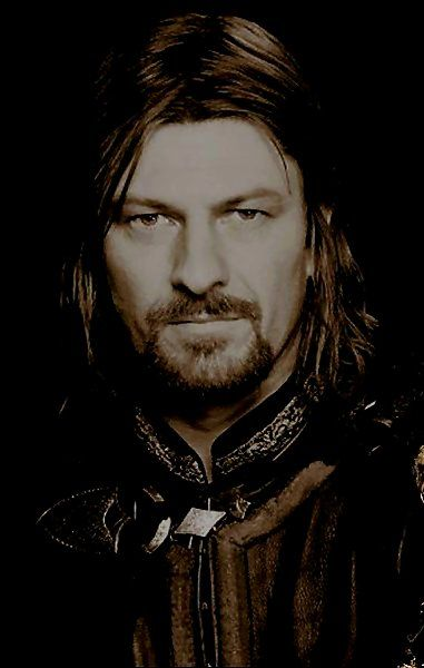 Sean Bean as Boromir in The Lord of the Rings