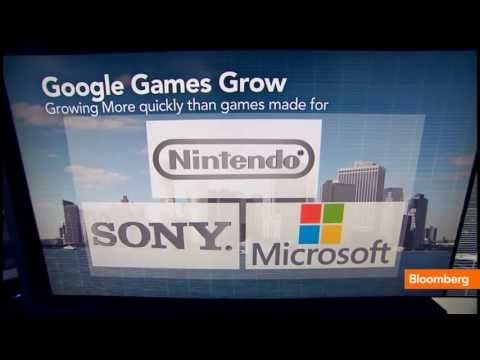 Google To Enter The Video Game Console Market [VIDEO] Bloomberg's Scarlet Fu reports that Google is looking to capitalize on its mobile strength to push a gaming console to challenge Sony, Nintendo and Microsoft for control of your living room. http://estrategy.tv/2013/07/01/google-to-enter-the-video-game-console-market-video/2506