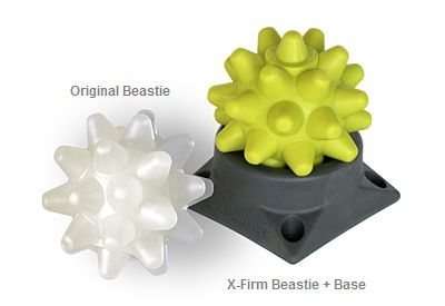 RumbleRoller Beastie Massage Balls - I was given one of these as a present. 10 times more effective than a lacrosse ball!