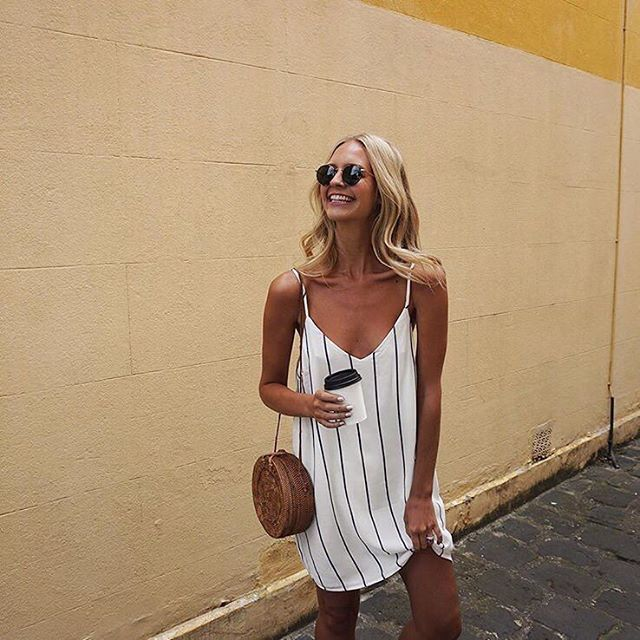 Slip into our Margot dress. See all the colours in the link in our bio // @saasha_burns