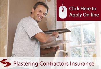 Plastering Contractors Tradesman Insurance