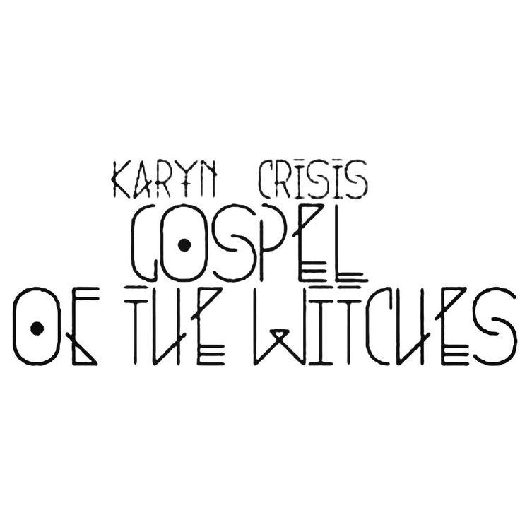 Karyn Crisis Gospel Of The Witches Band Decal Sticker  BallzBeatz . com
