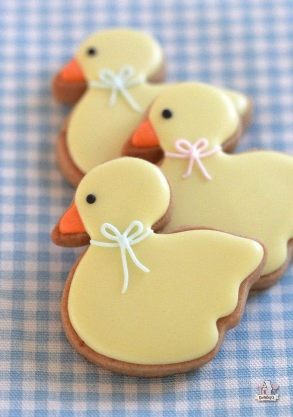 Brown Sugar Cookie Recipe + Baby Duck Cookie How To | Sweetopia