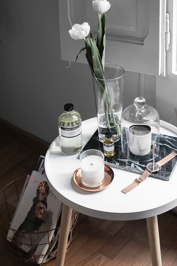 A day at home with Marie-Stella-Maris made of select ingredients, relaxing…