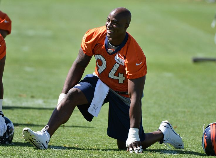 DeMarcus Ware, Denver Broncos --this is my boy.. ***Fav NFL player hands down***