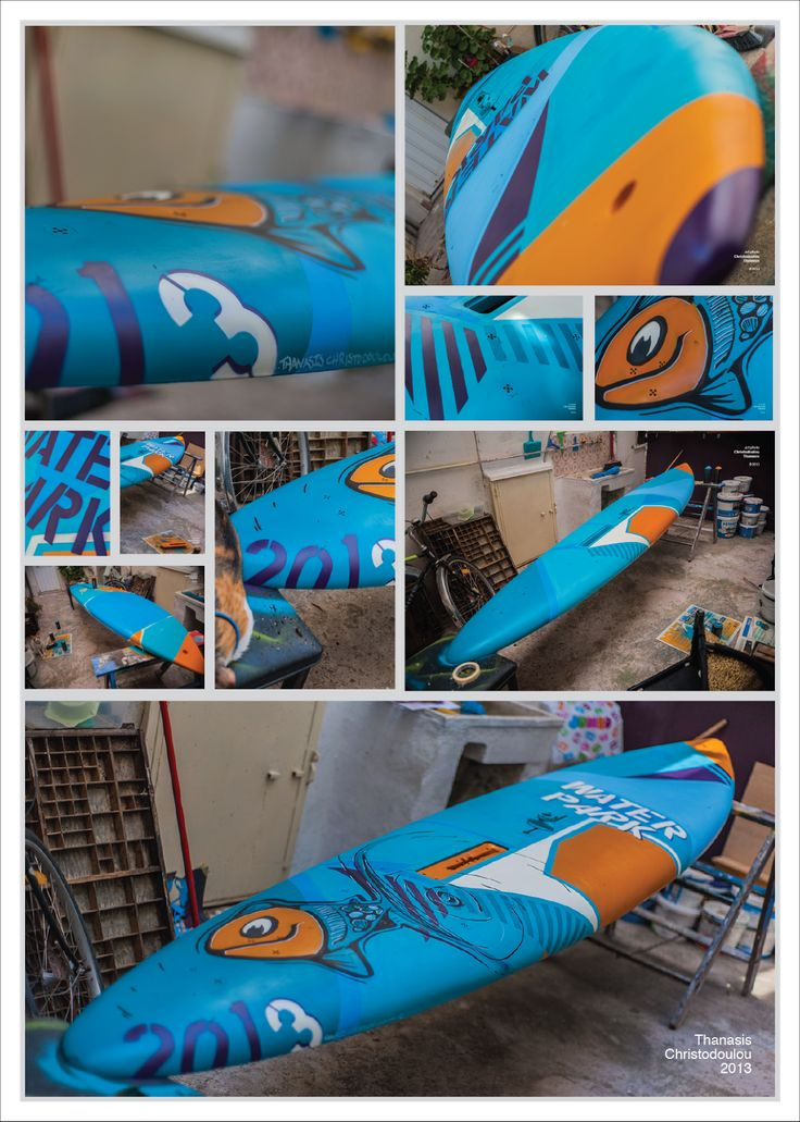 Windsurf Spray Art. #windsurf #art #fish #spray #montana #sea