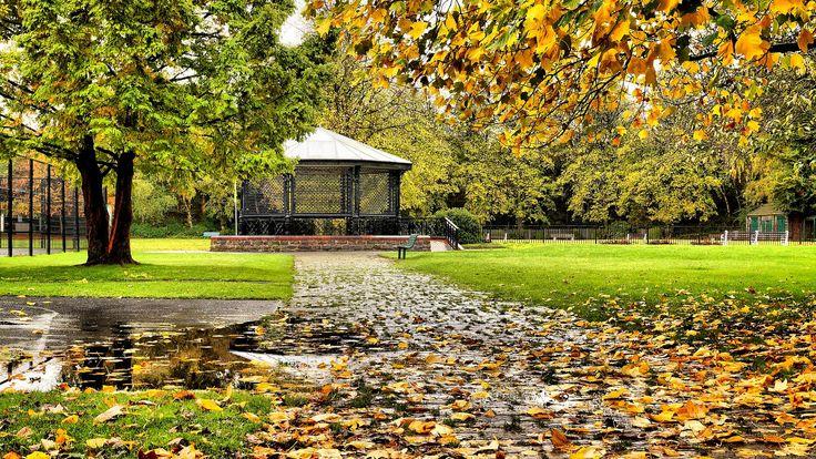 Runcorn Town Park Bandstand