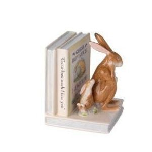 Rabbit hare bookend