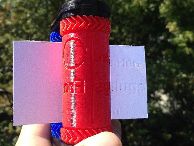 A unique way to make business cards uses a nifty little 3D printed machine.