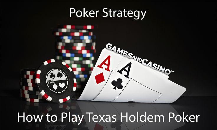 Poker strategy texas holdem