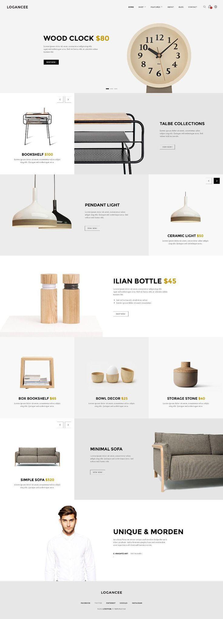 furniture design websites 60 interior. Logancee Web Design Inspiration Part 3. Furniture WebsitesInterior Websites 60 Interior