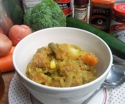 Photo of Easy Curried Sausages