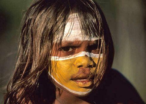 Aboriginal girl , Australia