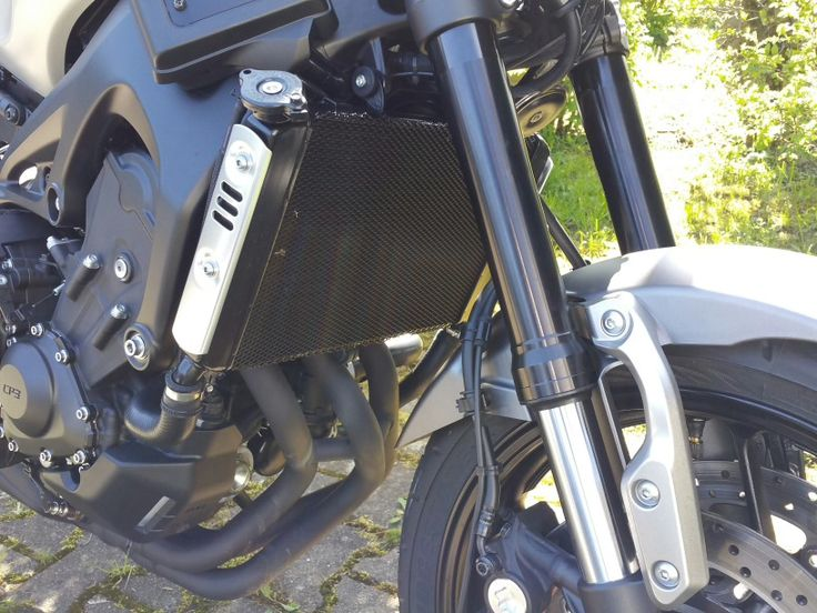 XSR 900 Custom Kühler Abdeckung XSR900