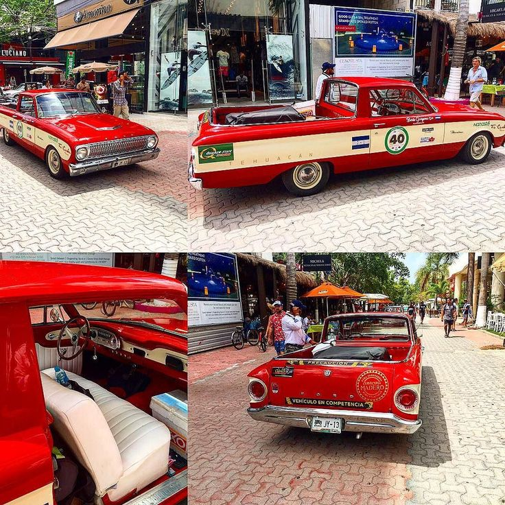 One sexy old ford ranchero spotted in playa del carmen. Nice restoration. #sidestreettraveltips #sidestreetadventures #fordsofinstagram #ranchero #mexico #pdc #funday #elcamino #classiccars #beautiful #sunandfun #5thavenue #carsofinstagram #niceday