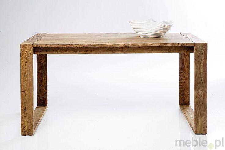 Kare Design Nature Drewniane Biurko Drewno Palisander lakier półmat 150x70 cm - 74821