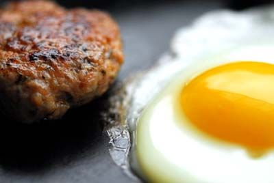 Homemade breakfast sausage (Texas style)... I made mine without the cayenne and with half the red pepper flakes, but there are many modifications you can make!