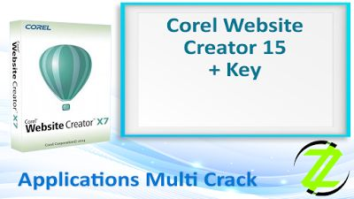 Corel Website Creator 15 + Key By _ Zuket Creation   Apps Cracked